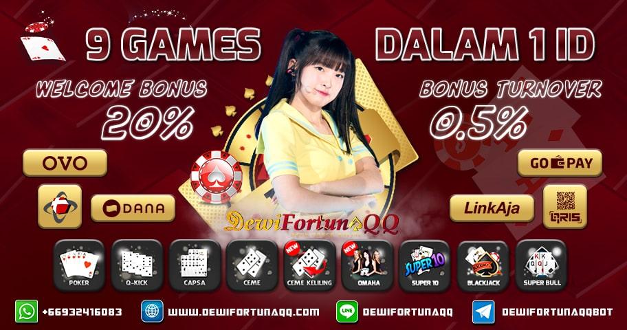 Daftar IDN Poker Permainan QQ Online Terpercaya