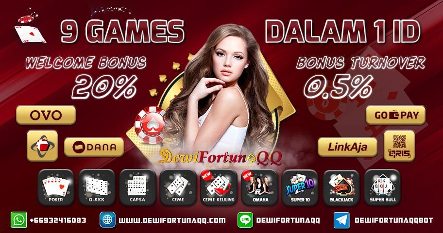 Situs Judi Online QQ Poker Online BandarQQ Terbaik